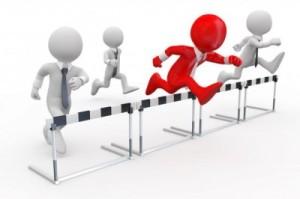 jumping hurdles