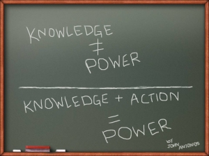 knowledge-n-action-equal-power